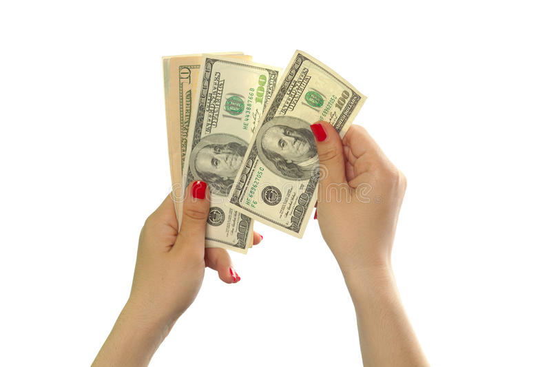 Download Dollars stock image. Image of investment, female, isolated - 28781951