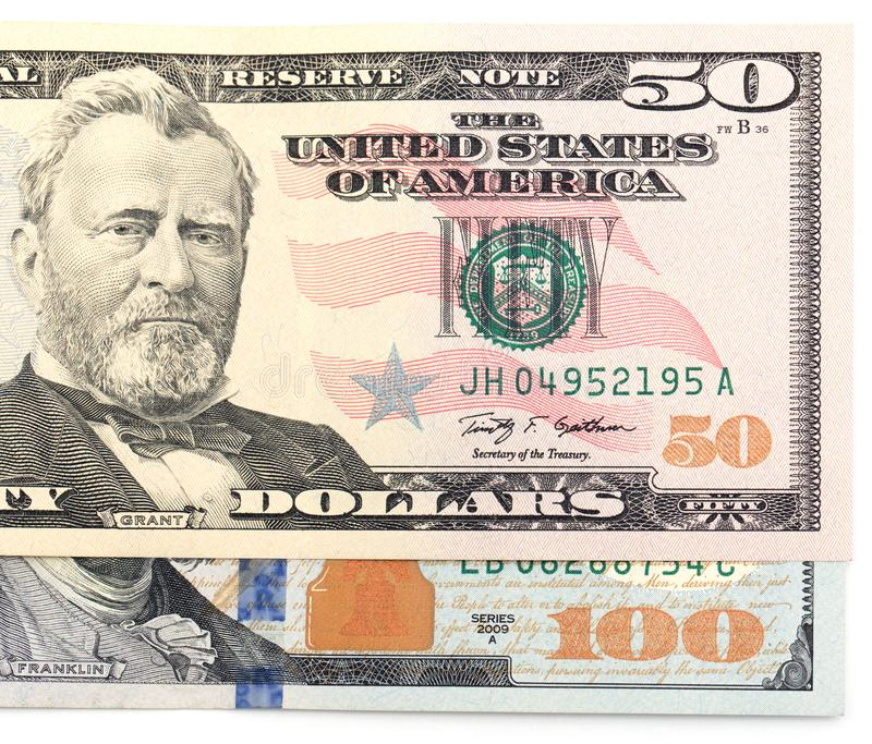 Dollars américains photographie stock