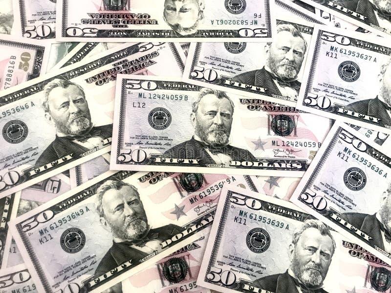 Dollars, argent, argent liquide photos libres de droits