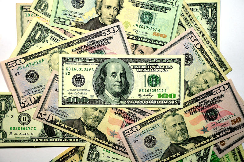 Download Dollars Bank Note. stock image. Image of paper, market - 26913667