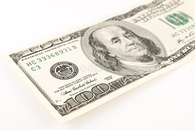 100 dollars Bill Abstract photos stock
