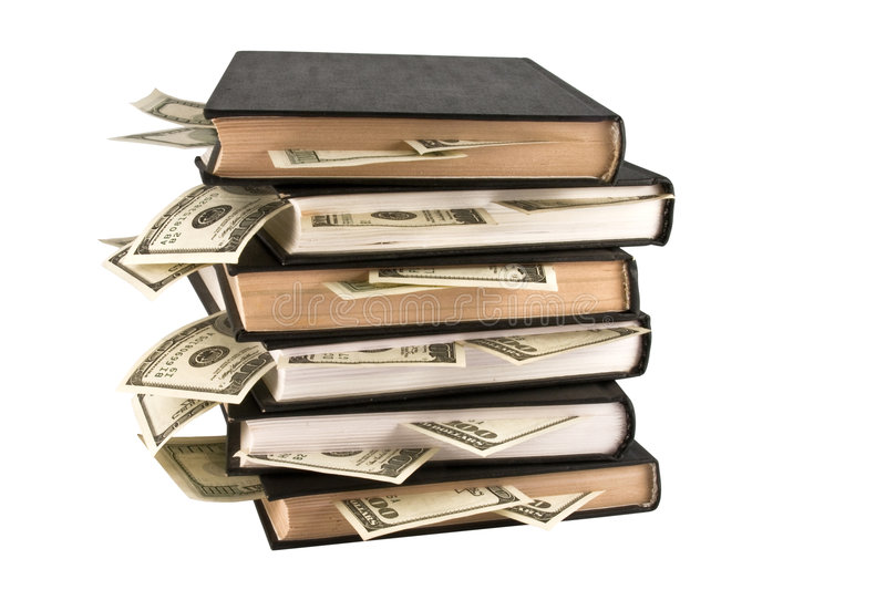 Download Dollars In The Books, Business Training. Stock Image - Image: 7923805