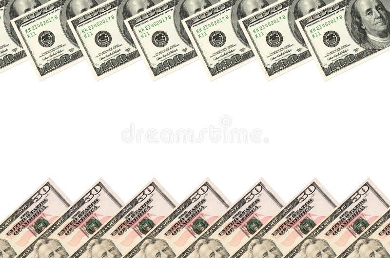 Dollars de cadre photo stock