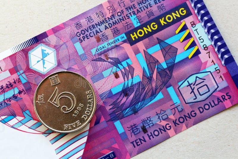 Dollars de Hong Kong photos libres de droits