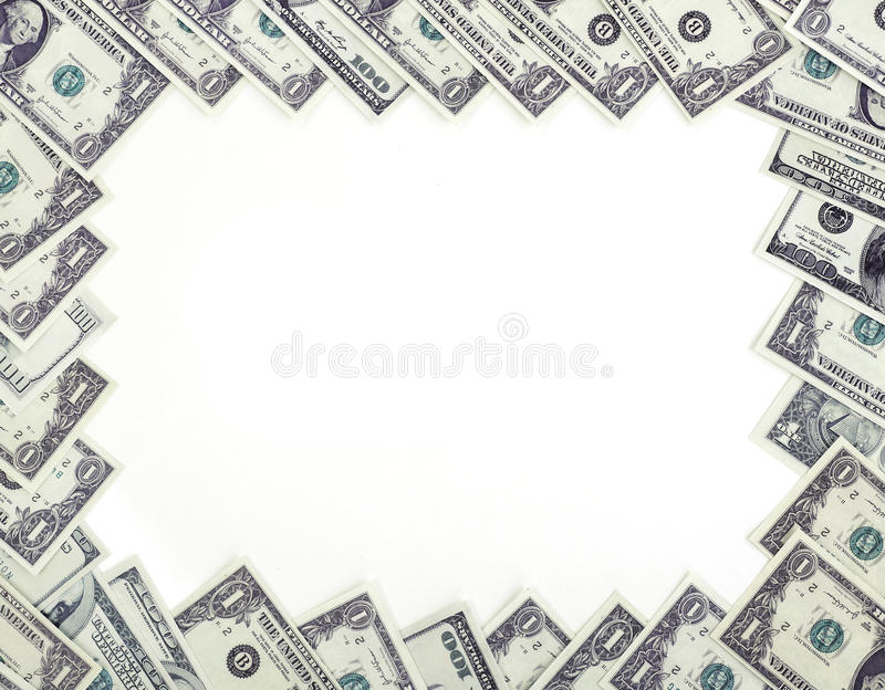 Dollars de trame image libre de droits