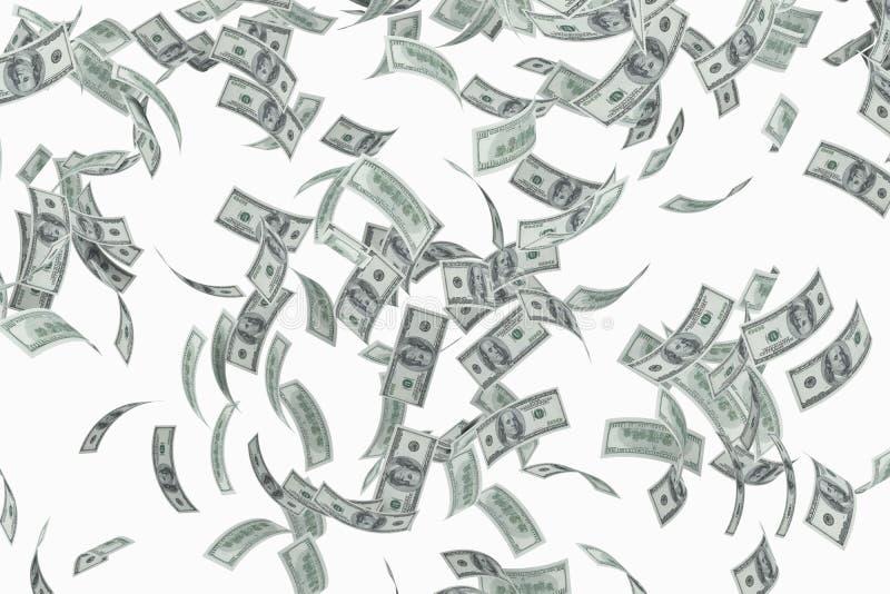 Dollars de vol illustration stock