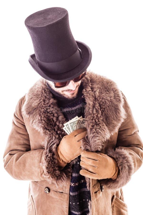 Download Dollars empochants image stock. Image du beau, gants - 45360829