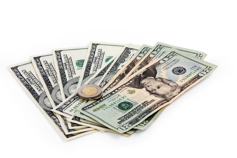Download Dollars and euro stock photo. Image of market, finance - 26132558