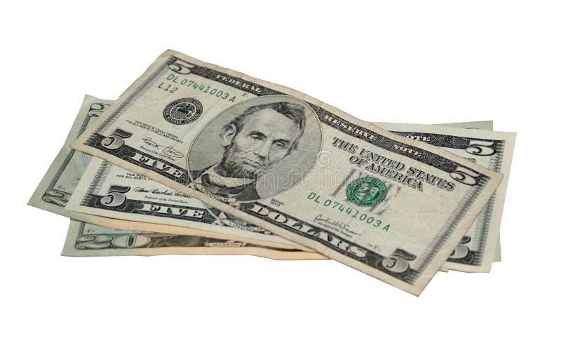 dollars fifty στοκ φωτογραφία