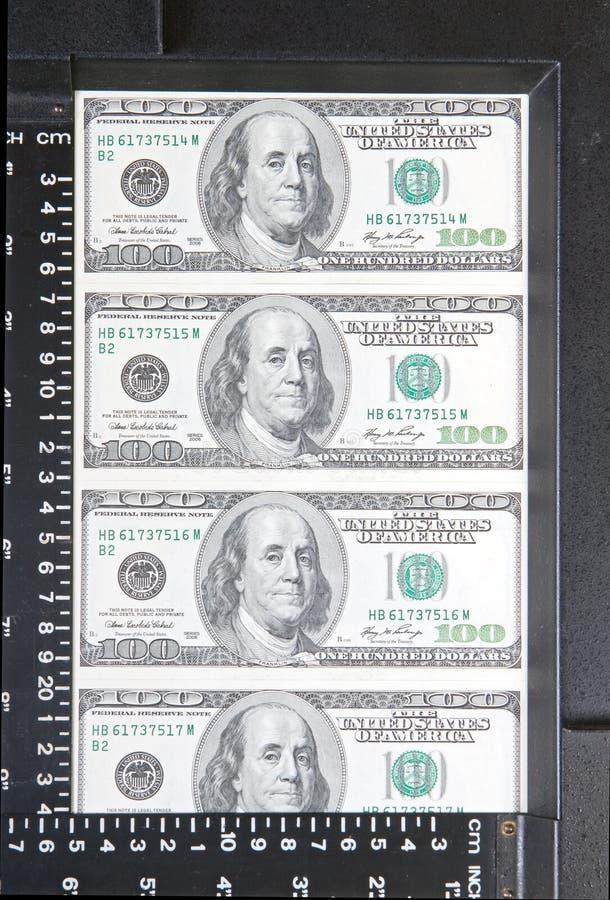 Dollars in frame