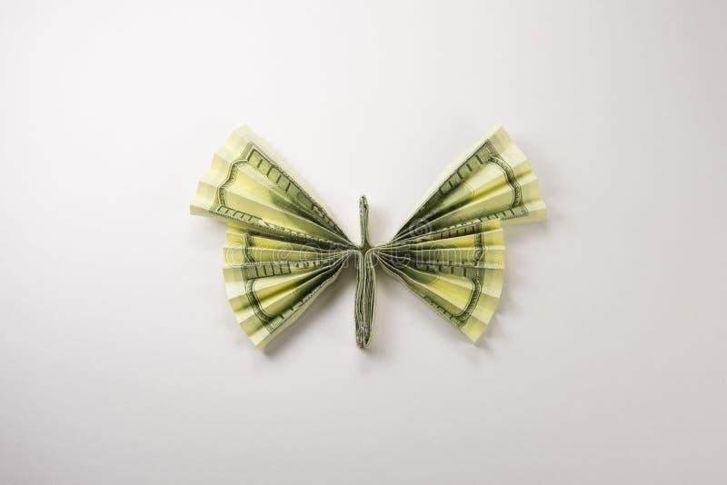Download Dollars Sous Forme De Papillons Photo stock - Image du dollar, insecte: 77150168