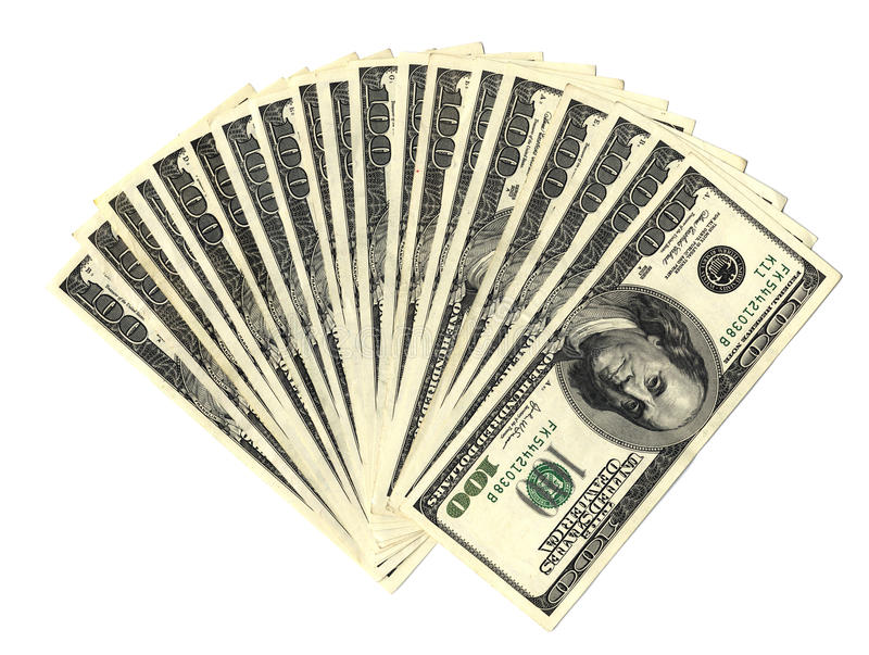 Download Dollars stack stock photo. Image of hundreds, legal, dough - 9582118