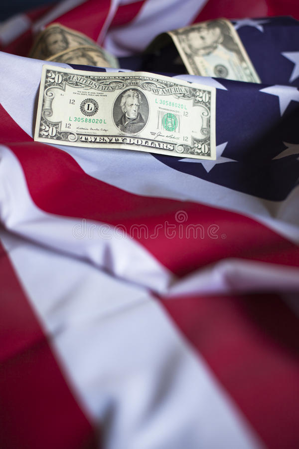 Économie américaine image stock