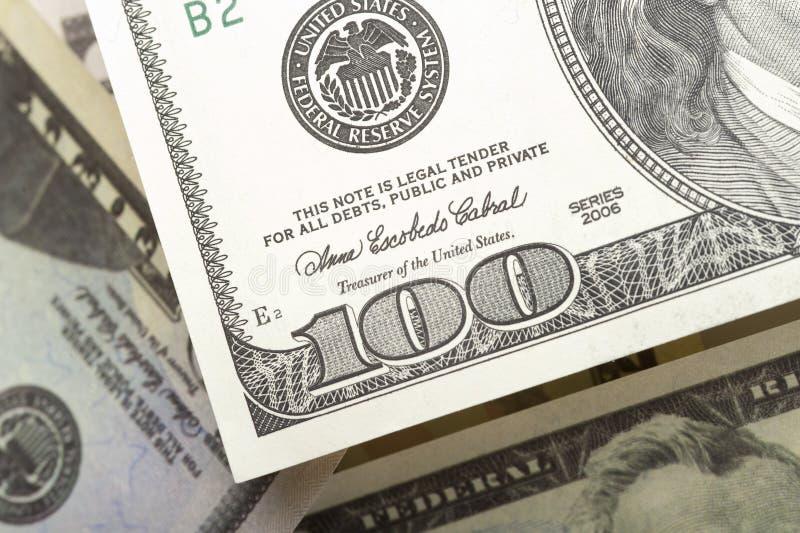 Dollars van de Verenigde Staten van Amerika stock foto