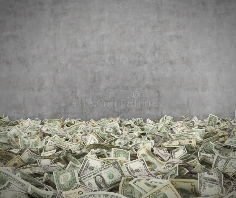 Dollarsedel royaltyfria bilder