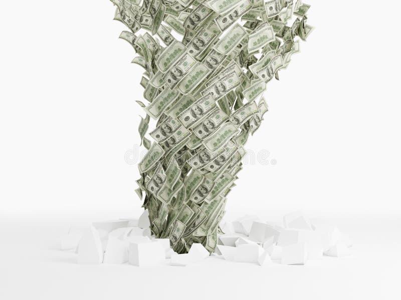 Dollarsedeltromb arkivbild