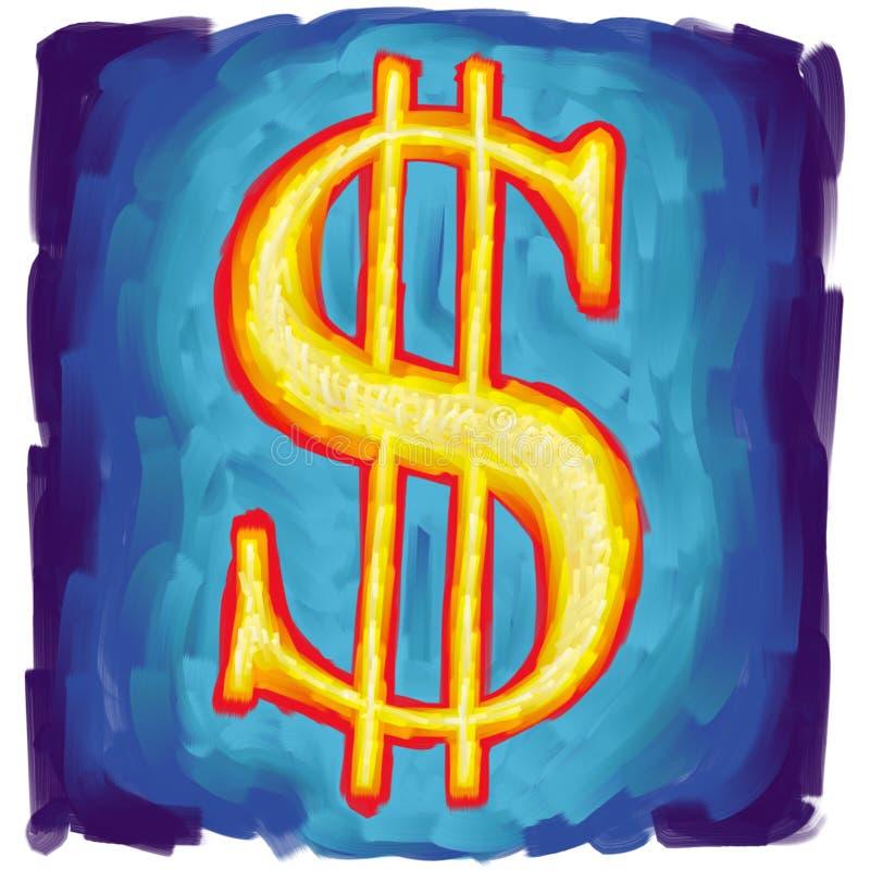 dollarsymbol oss stock illustrationer
