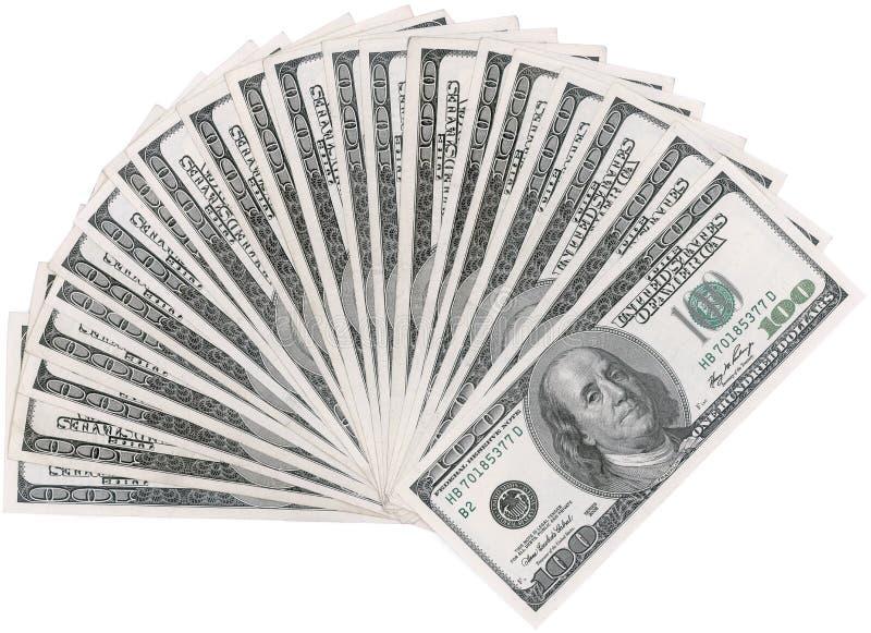 Dollarventilator Arkivbild