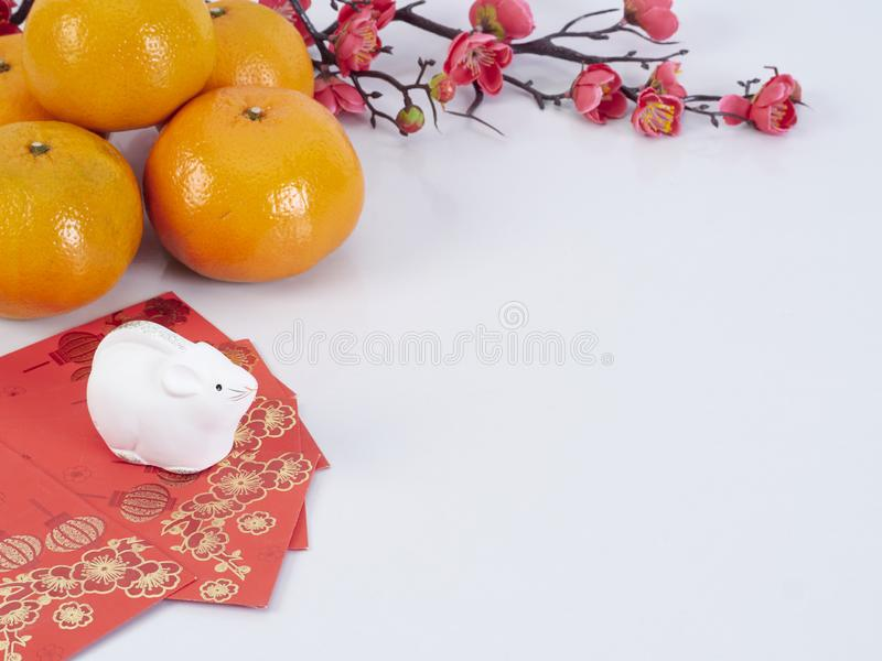 Dolls of Mouse. Chinese New Year 2020 royalty free stock photo