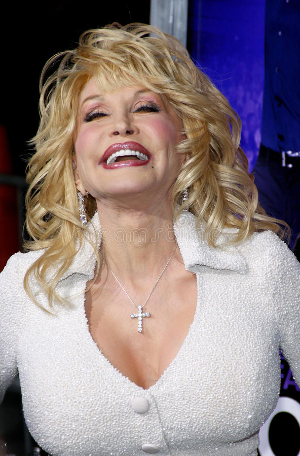 Dolly Parton. At the Los Angeles premiere of 'Joyful Noise' held at the Grauman's Chinese Theatre in Hollywood on January 9, 2012 royalty free stock photos