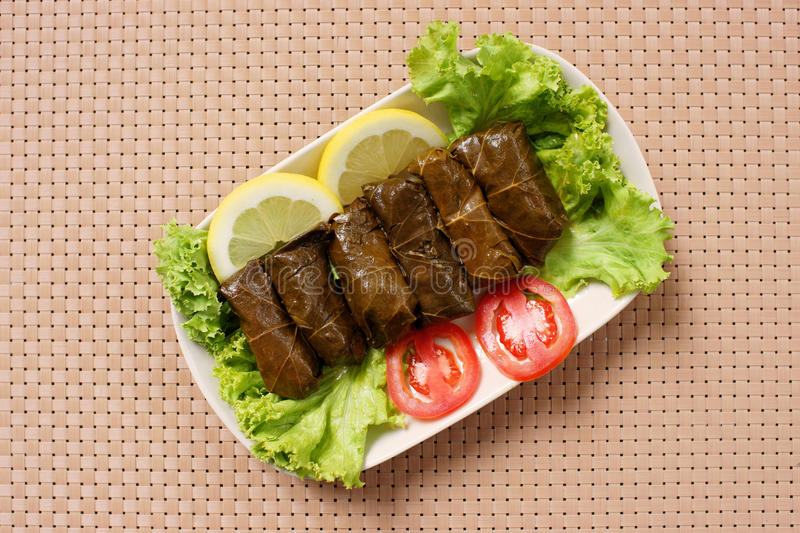 Dolma stock photo