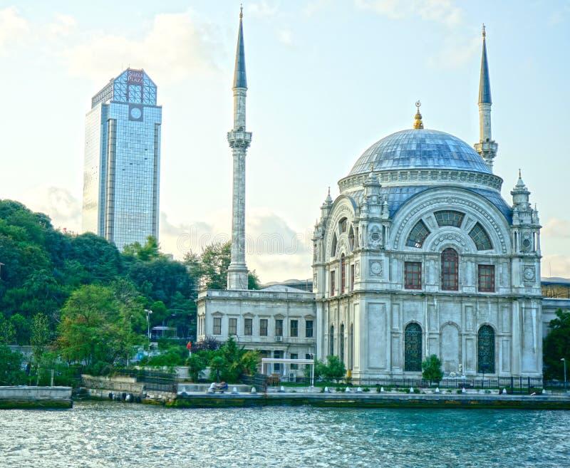 Dolmabahçe Masjed Mosqué Istanbul stock image
