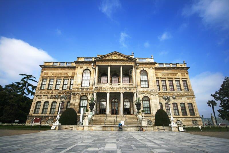 Dolmabahce宫殿 免版税库存图片