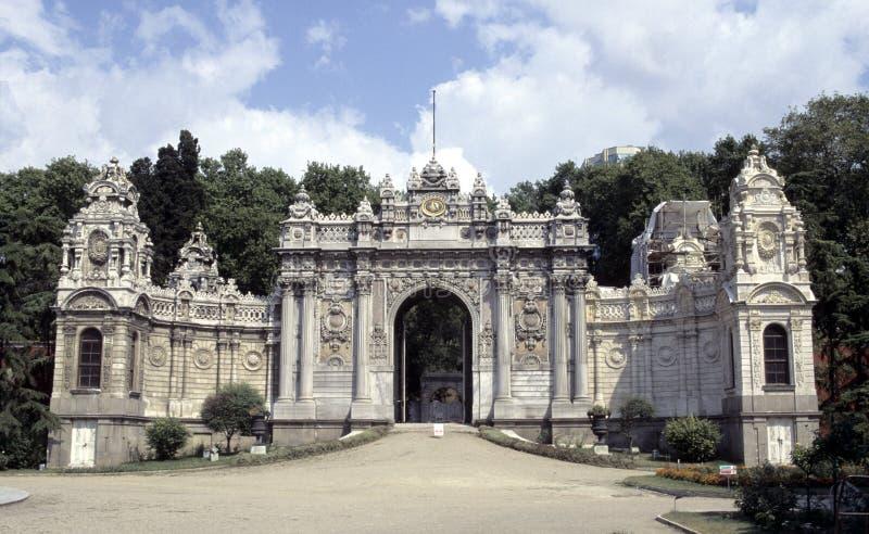 dolmabahce παλάτι στοκ φωτογραφίες με δικαίωμα ελεύθερης χρήσης