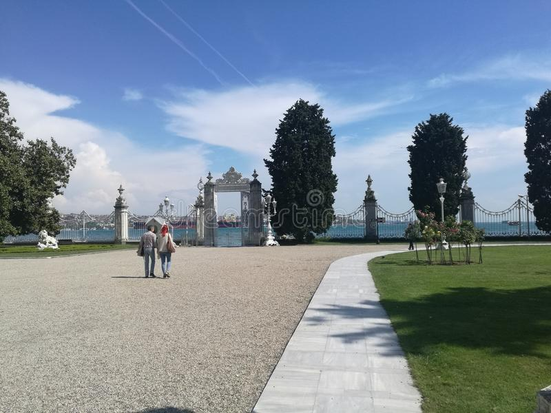 Dolmabahce photo stock