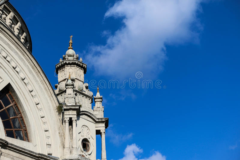 Dolmabahce Mosque, Istanbul royalty free stock photos