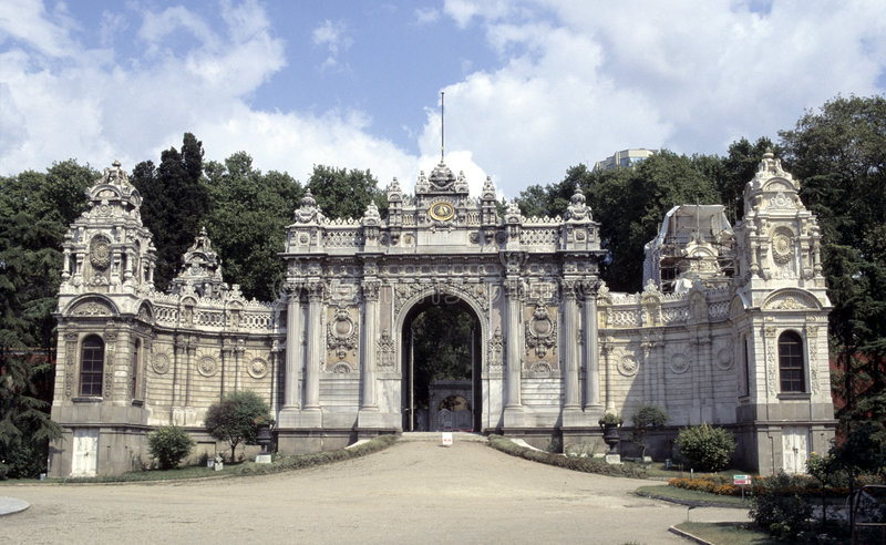 Download Dolmabahce palace stock photo. Image of palace, europe - 1045888