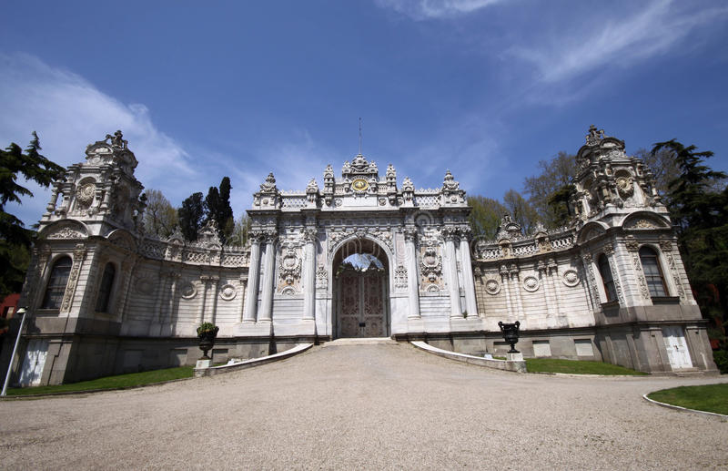 Download Dolmabahce Palace stock image. Image of building, european - 18608369