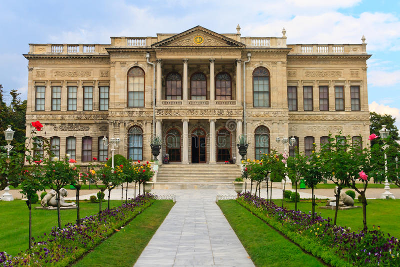 Download Dolmabahce Palace stock image. Image of constantinople - 23227615