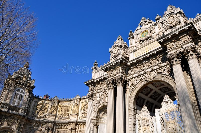 Download Dolmabahce palace stock image. Image of east, ottoman - 39512787