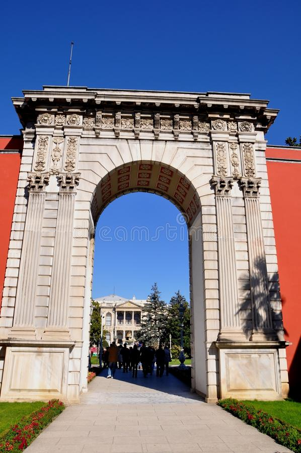 Download Dolmabahce palace editorial image. Image of bosphorus - 39512790