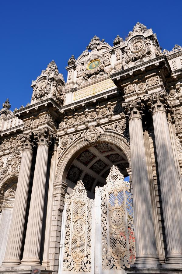 Download Dolmabahce palace stock image. Image of constantinople - 39512795