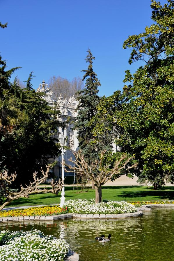 Download Dolmabahce palace stock image. Image of landmark, marmara - 39512819