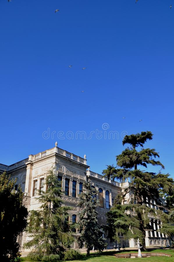 Download Dolmabahce palace stock photo. Image of building, east - 39512830