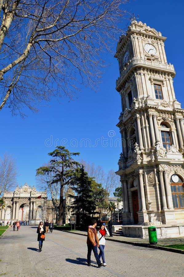 Download Dolmabahce palace editorial photography. Image of asia - 39512887