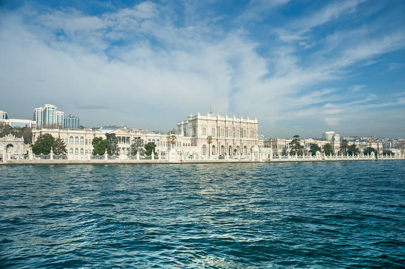 Download Dolmabahce Palace, Istanbul, Turkey. Stock Image - Image: 18029283