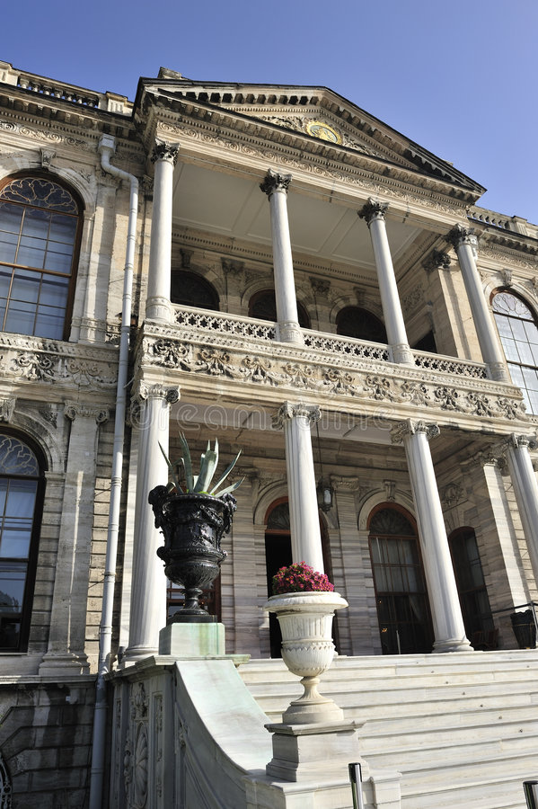 Download Dolmabahce Palace, Istanbul, Turkey Stock Photo - Image: 7241074
