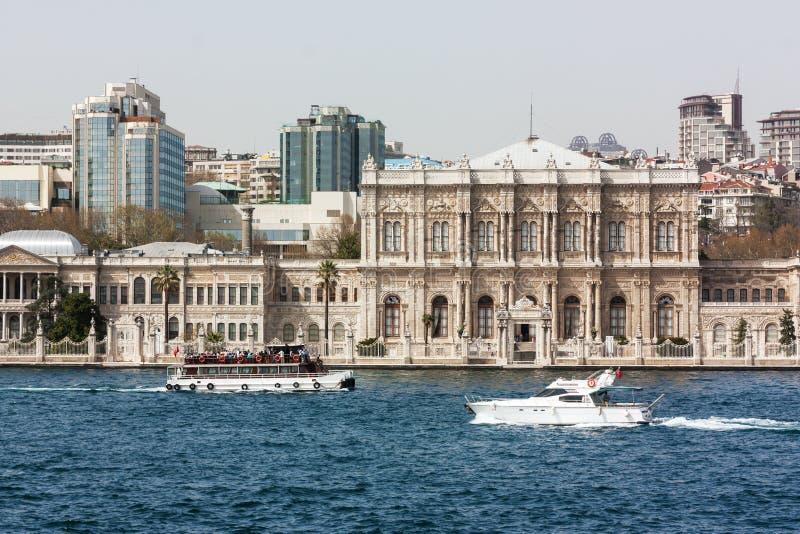 Dolmabahce-Palast, Istanbul lizenzfreies stockbild