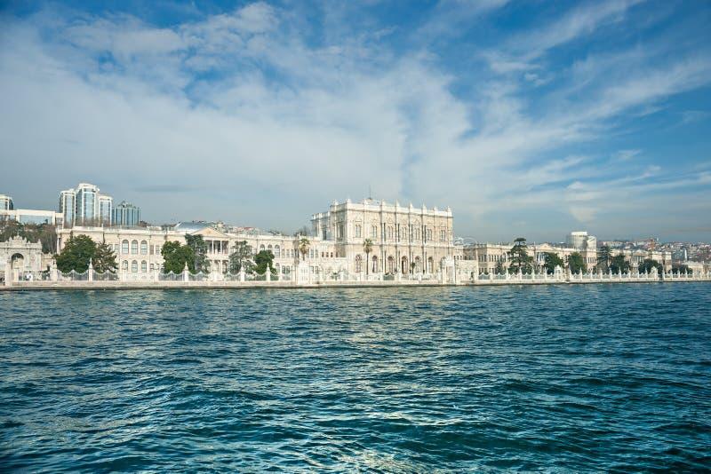 Dolmabahce Palast, Istanbul, die Türkei. stockfotos