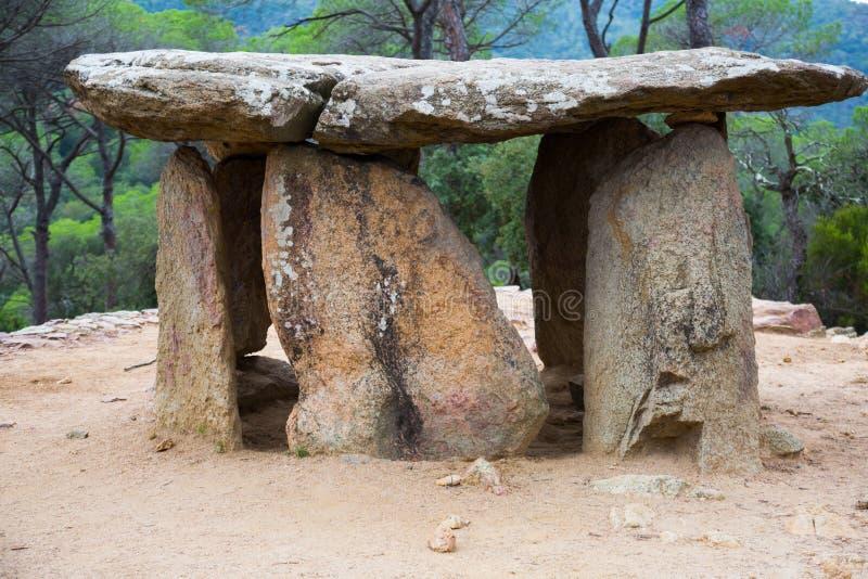 Dolmen De Pedra Gentil fotografia royalty free