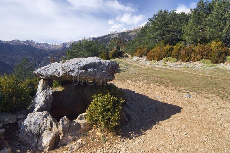 Dolmen neolítico foto de archivo libre de regalías