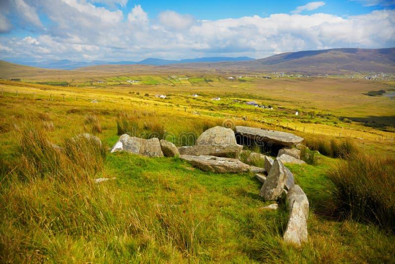 dolmenu slievemore obraz royalty free