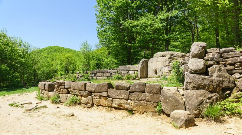 Dolmeny Zachodni Megalityczni grobowowie pierwsza połowa 3rd-second połówka 2nd milenium BC zdjęcie royalty free