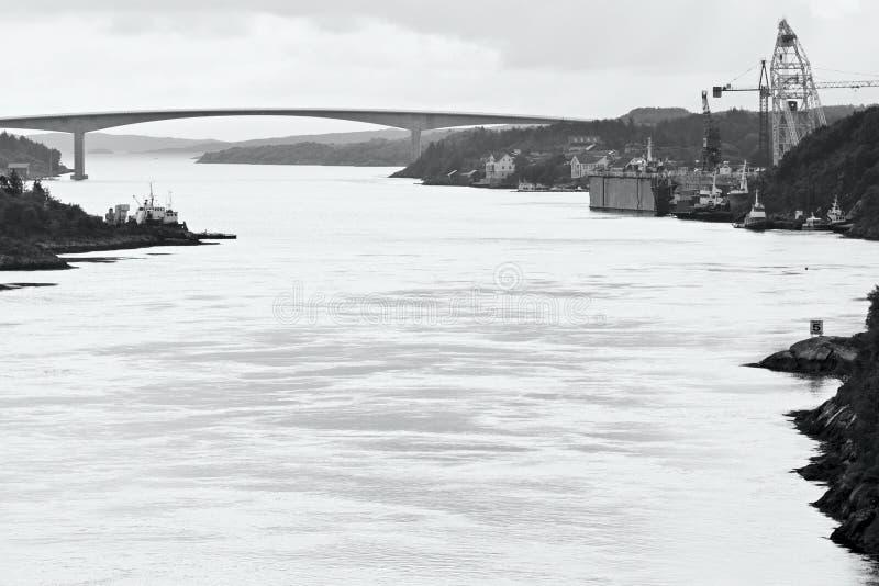 Dolmoy,希特拉岛-挪威 免版税库存图片
