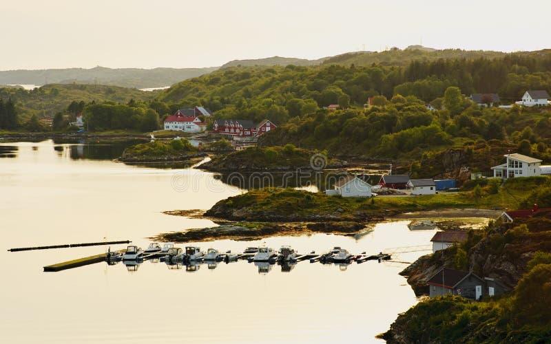 Dolmoy, Hitra - Noorwegen stock foto