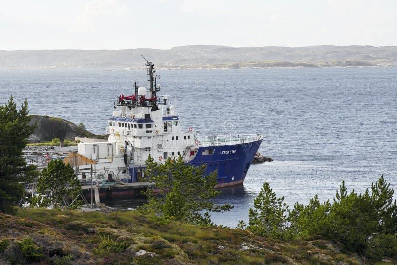 Dolmoy, Hitra - Noruega imagen de archivo libre de regalías